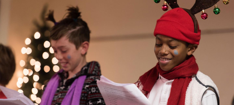 School Christmas Choir at Christ Episcopal School