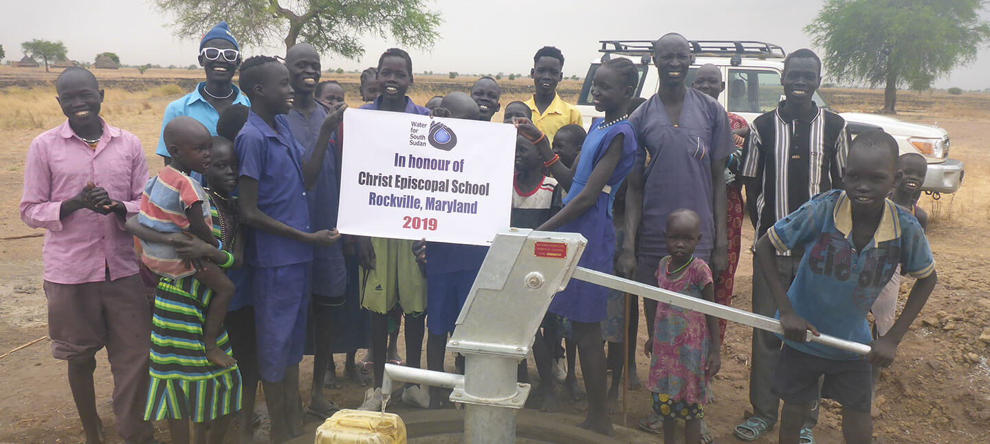 Sudan Well Project at Christ Episcopal School in Maryland