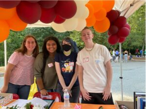 Alumni students gather at annual fall festival and homecoming celebration
